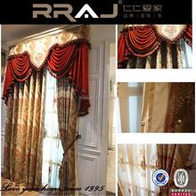 chenille fabric window modern curtains
