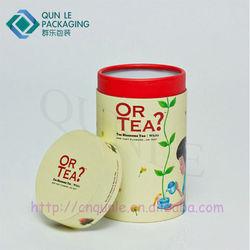 Custom Printed Round Paper Cylinder Tube China Manufacturer