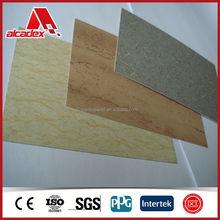 Artificial marble look aluminum composite sheet