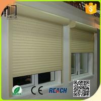 Aluminium Rolling Shutter Window Double Layers Aluminium Shutter Window