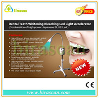 floor stand type blue cool light therapy teeth whitening machine support OEM