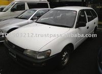 1996 second hand automobiles TOYOTA Corolla Van /Wagon/RHD/163249km/