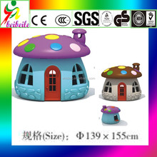 Best selling products cute agricultural plastic house indoor kids play house/playground house for sale