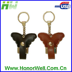 hotsale factory price butterfly shape usb flash drives