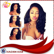 Factory price 10-30 inch kinky curl 100% human hair full lace wig