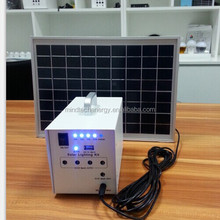 10W Solar Panel Mini Home Lighting System solar panel price india With Mobile Charger
