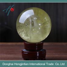 di cristallo decorativo mestiere di cristallo di quarzo fumè le palle per la vendita
