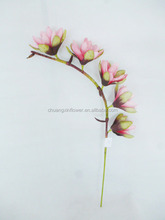 New product 5 heads artficial fake magnolia flower for garden decoration