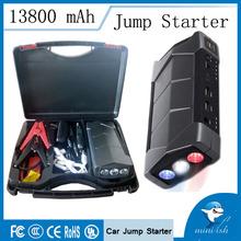 High Performance Portable Mini Car Jump Starter 12000mAh 12V Manufacturer Emergency Kits With Flashlight