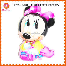 New Design inflatable Mickey Minnie Mouse Foil Balloons, Big lovely Mickey Minnie Mouse