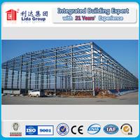 Pre engineered light steel structure metal construction