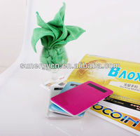 2013 New Coming Ultra Thin rechargeable Mobile Power Bank 4000 mAh For Cell Phone
