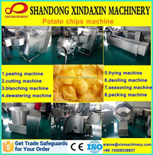 CE approved automatic potato chips making machine price for sale