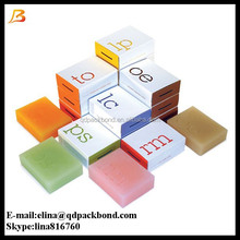Wholesale eco friendly decorative soap box packaging