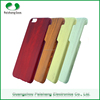 PC wooden pattern finish wood mobile phone cover case For Apple iPhone 6 / 6 Plus
