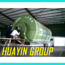 Tire Scrap Recycle Machine to Diesel Machine Pyrolysis Equipment with CE