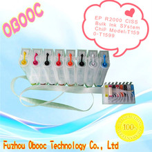 Hot sale! Bulk Ink System CISS for Epson R2000 CISS with permanent chip(T1590-TT1599)
