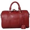 Free sample wholesale OEM custom genuine leather boston bag
