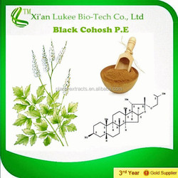 Best Quality of black cohosh extract/black cohosh p.e. supply