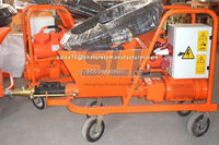 Skilled stuffs made great material used hot mix mortar pump spraying machine