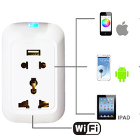 Wireless Switch Outlet with Smart Home Automation Phone App Control outlet hidden camera