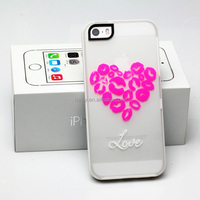 China Products wholesale night glow mobile phone cases double color case custom as required