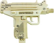 Handmade gun puzzle toy
