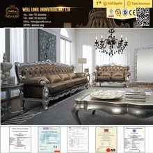 Living Room Furniture Modern Leather Sectional Sofa