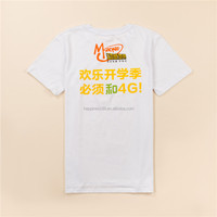 Fashionable Round O Neck T-Shirt /Custom Logo Design Printing Cotton Tee T-Shirt