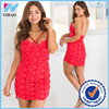 clothing manufacturer custom body dress red sexy lace wedding dress
