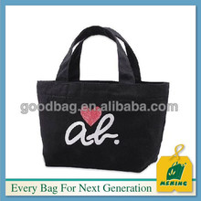big size fashion trendy white canvas tote bags ,China supplier