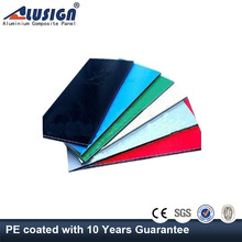 Alusign decorative plastic wall covering sheets aluminium composite panel