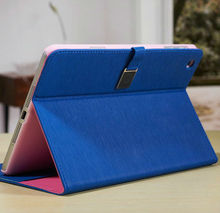 2015 Best Quality Attractive price Fashion blue wholesale price high quality stand wallet leather case cover for ipad mini