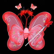 Most popular small angel wings for crafts cheap angel wings QFW-5056
