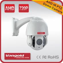 waterproof digital ahd security PTZ camera Speed dome camera 720P AHD PTZ