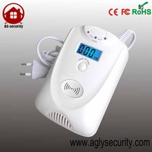 portable CO detector with Digital Display for Gas Alarm