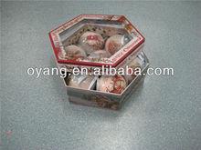 2014 China cheapest printing ball,plastic ball,christmas ball glass christmas tree