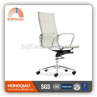 ergonomic task chair popular leather office chair in guangdong swivel adjustable laptop table