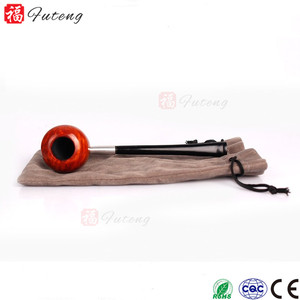 Di alta Qualità 100% di Legno Fatti A Mano Pipa di Radica di Fumare Lunga Inferiore Piccolo Tubo All'ingrosso