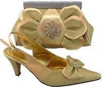 2014 matching italian shoe and bag set/ italian fashion wholesale shoe and bag set for women
