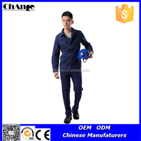 Thick Denim Fabric Industrial and Welding Coverall Safety Workwear Suit