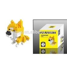 De plástico bloque de construcción, ilustrar a los juguetes de ladrillo, de ladrillo de plástico juguetes