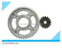 sprcoket transmission kit TITAN 150 43-16T 428-118L( Brazil)