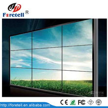 wall mounted or floor stand lcd video wall narrow bezel 40 inch