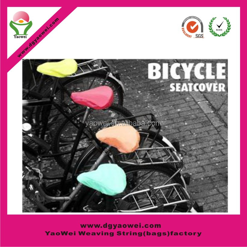 new promotion fashion waterproof bike cover/PVC bike seat cover/saddle cover