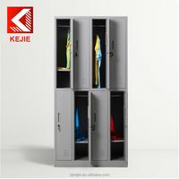 Deluxe 6 tier steel locker cabinet modern bedroom wardrobe design cheap furniture wardrobe