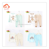 100% Children clothing night suit for 2-7 years old