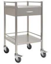 best seller 304 A grade material stainless steel mobile cart with drawer