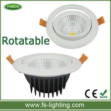 Angle Adjustable Rotatable COB LED Downlight