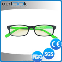 2015 New Model Double Colors Tattoo Eyewear Frame For Kid